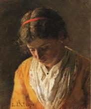Nono, Ritratto di giovane donna