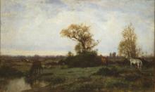 Filippo Palizzi, Cavalli al pascolo