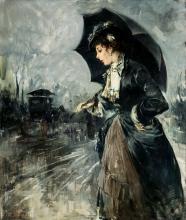 Panerai (attribuito a), Signora con ombrello.jpg