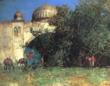 Alberto Pasini, Moschea araba   Moschée arabe   Arab mosque