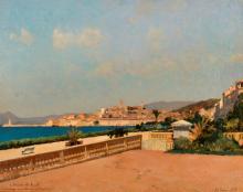 Alberto Pasini, Veduta di Cannes