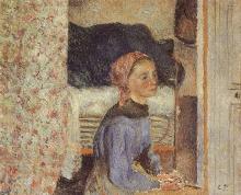 Pissarro Camille, Contadina, interno.jpg