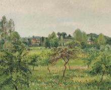 Pissarro Camille, Giugno, tempo piovoso, Eragny.jpg