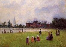 Pissarro Camille, I giardini di Kensington, Londra | Kensington Gardens, Londres | Kensington Gardens, London