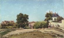 Pissarro Camille, Il crocevia, Pontoise | Le carrefour, Pontoise | The crossroads, Pontoise