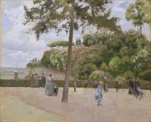 Pissarro Camille, Il giardino pubblico a Pontoise.jpg
