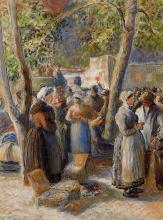 Pissarro Camille, Il mercato di Gisors.jpg