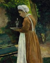 Pissarro Camille, La cameriera.jpg