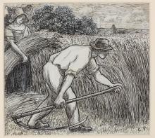 Pissarro Camille, La mietitura.jpg