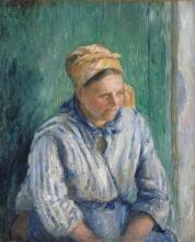 Pissarro Camille, Lavandaia, studio.jpg