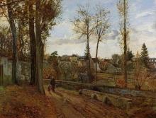 Pissarro Camille, Louveciennes [1871].jpg