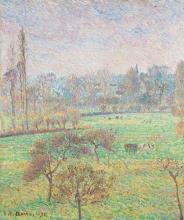 Pissarro Camille, Mattino, autunno, Éragny | Matin, automne, Éragny | Morning, autumn, Éragny