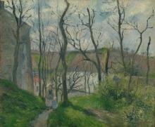 Pissarro Camille, Paesaggio a Pontoise | Paysage à Pontoise | Landscape at Pontoise