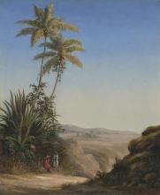 Pissarro Camille, Paesaggio a Saint Thomas | Paysage à Saint-Thomas | Landscape, St. Thomas