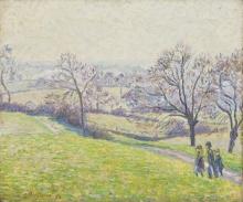 Pissarro Camille, Paesaggio di Epping.jpg