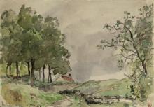 Pissarro Camille, Paesaggio di Pontoise.png