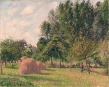 Pissarro Camille, Pagliai, mattino, Eragny.jpg