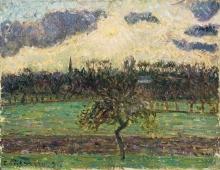 Pissarro Camille, Prati di Eragny, il melo | Prés de Eragny, le pommier | Meadows at Eragny, the apple tree | Prados de Eragny, el manzano