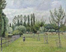 Pissarro Camille, Prato a Eragny, tempo grigio.jpg