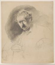 Pissarro Camille, Ritratto del pittore Fritz Melbye | Portrait du peintre Fritz Melbye | Portrait of the painter Fritz Melbye