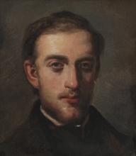 Pissarro Camille, Ritratto del pittore Fritz Melbye   Portrait du peintre Fritz Melbye   Portrait of the painter Fritz Melbye
