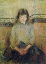 Pissarro Camille, Ritratto di Felix Pissarro in gonna | Portrait de Félix Pissarro en jupe | Portrait of Felix Pissarro in skirt