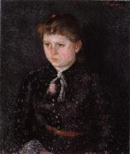 Camille Pissarro, Ritratto di Nini (Eugenie Éstruc) | Portrait de Nini (Eugenie Éstruc) | Portrait of Nini (Eugenie Éstruc)