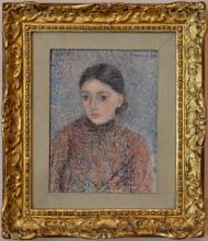 Pissarro Camille, Ritratto di ragazza.jpg