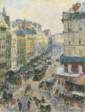 Pissarro Camille, Rue Saint-Lazare, Parigi | Rue Saint-Lazare, Paris