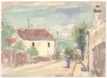 Pissarro Camille, Rue de L'Hermitage, Pontoise