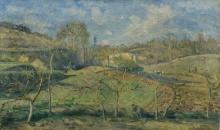 Pissarro Camille, Sole di marzo, Pontoise.jpg