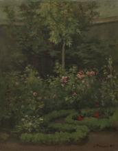 Pissarro Camille, Un giardino di rose | Un jardin de roses | A rose garden