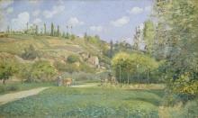 Pissarro Camille, Una pastorella a Valhermeil.jpg