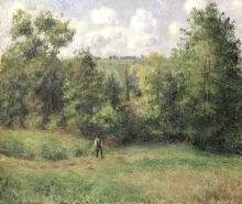 Pissarro Camille, Veduta della strada di Ennery.jpg