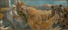 Gaetano Previati, Adorazione dei magi   Adoration of the Magi [1890-1894]