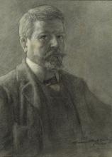 Gaetano Previati, Autoritratto   Self portrait [1905-1906]