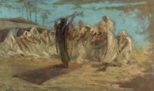 Gaetano Previati, Beduini nell'oasi