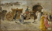 Gaetano Previati, Carrozza d'oro