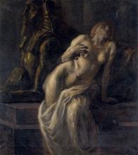 Gaetano Previati, Cleopatra [1903]