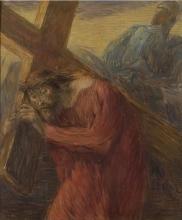 Gaetano Previati, Cristo portacroce | Christ carrying the cross