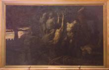 Gaetano Previati, Gli ostaggi di Crema | The hostages of Crema