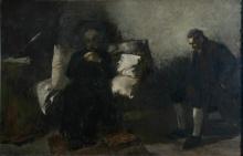 Gaetano Previati, Gli ultimi momenti di Carlo Alberto | The last moments of Carlo Alberto