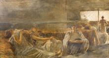 Gaetano Previati, Hashish: fumatrici d'oppio