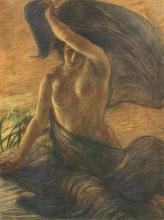 Gaetano Previati, Il vento