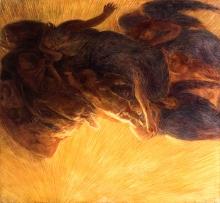 Gaetano Previati, La creazione della luce | The creation of light