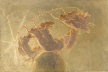 Gaetano Previati, La danza delle ore | The dance of the hours