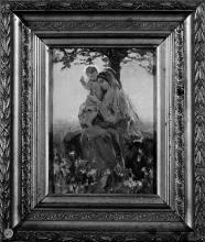 Gaetano Previati, Madonna con bambino