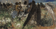 Gaetano Previati, Maternità [1885 circa]