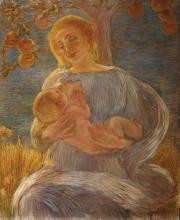 Gaetano Previati, Maternità [1905 circa]