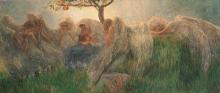 Gaetano Previati, Maternità | Maternity [1890-1891]